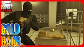Casino Raub mit GOLD! - GTA 5 ONLINE Deutsch