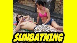 SUNBATHING | 自把自爲 曬太陽