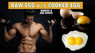 Raw Egg v/s Cooked Egg - Which one is more Healthy   info by Guru Mann