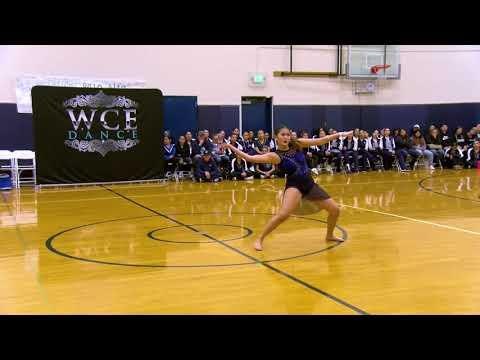 WCE San Jose 2020 Jana Tsai - Monta Vista 3rd Place Dancer Of The Year