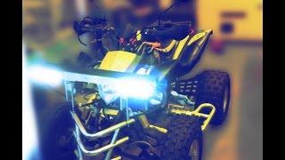 Most powerful LED car lights 100000+ Lumen