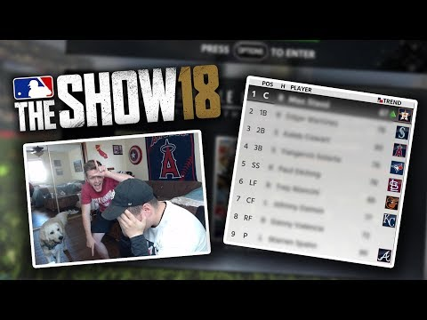 FUZZY DRAFTS THE WORST BR TEAM EVER! MLB The Show 18 Diamond Dynasty