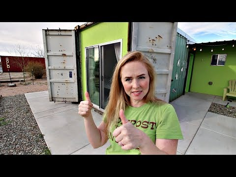 How to Make $3090 a Month With a Shipping Container House (Airbnb)