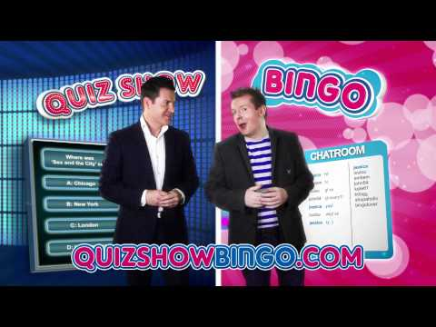 TVs Paul Metcalfe in Quiz s Bingo TV Advert