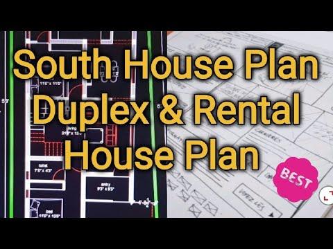 South House Plan | Duplex & Rental House Plan | 1300 Sq.ft | GIRI Homes Kumbakonam