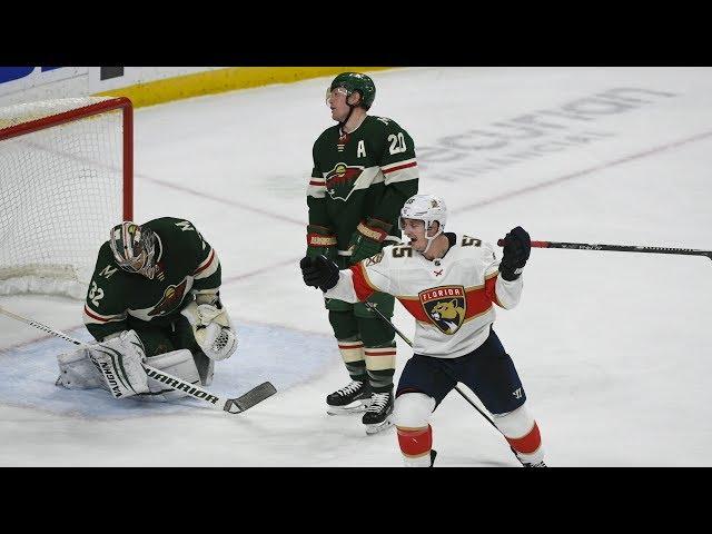 NHL Highlights | Panthers vs Wild – Jan. 20, 2020