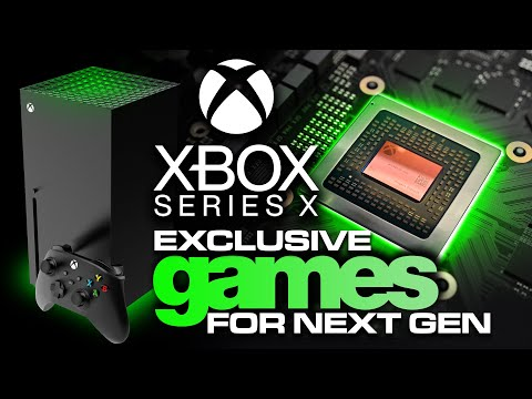 True Xbox Series X Next Generation Exclusive Games | Xbox Game Studios Announcements | Microsoft