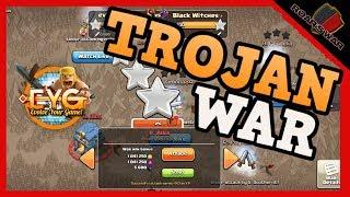 TROJAN WAR   100 ATTACKS IN 10 MINUTES   Clash of Clans