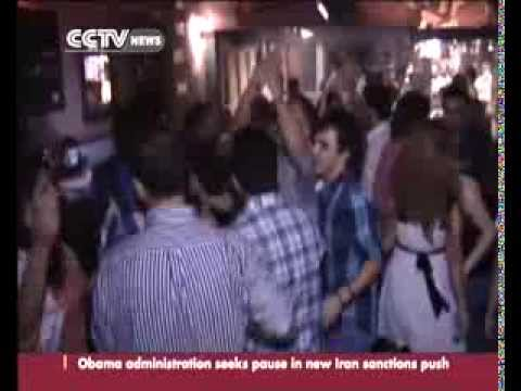 Damascus night life thrives despite violence in Syria