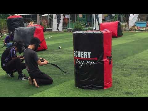 Customers play Combat Archery 3