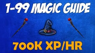 Runescape 2016 | 1-99 Magic Gids