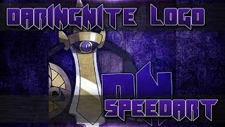 DaringNite Logo Speedart