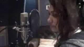 The Saturdays - Vanessa recording her vocals!