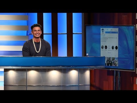 Pauly D Explains Why He Follows Only Ellen On Instagram