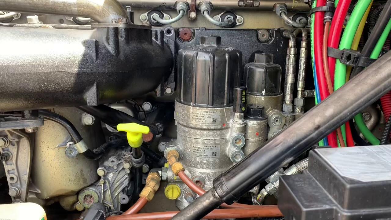 DD13 & DD15 fuel filter update ( 2 piece system) - YouTubeYouTube