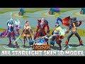 All Mobile Legends Starlight Skin In-game 3d Models