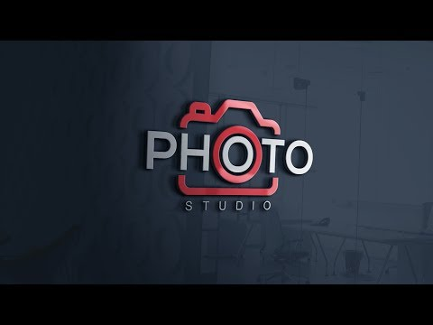 How To Easily Design A Photography Logo Photoshop Cc Tutorial Youtube