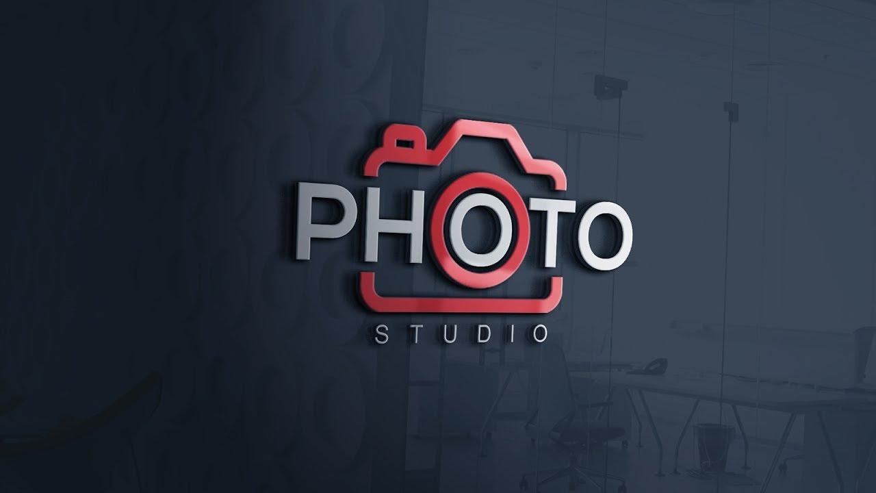How To Easily Design A Photography Logo Photoshop Cc Tutorial