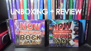 Now That S What I Call Rock Ballads Driving Rock Unboxing Review
