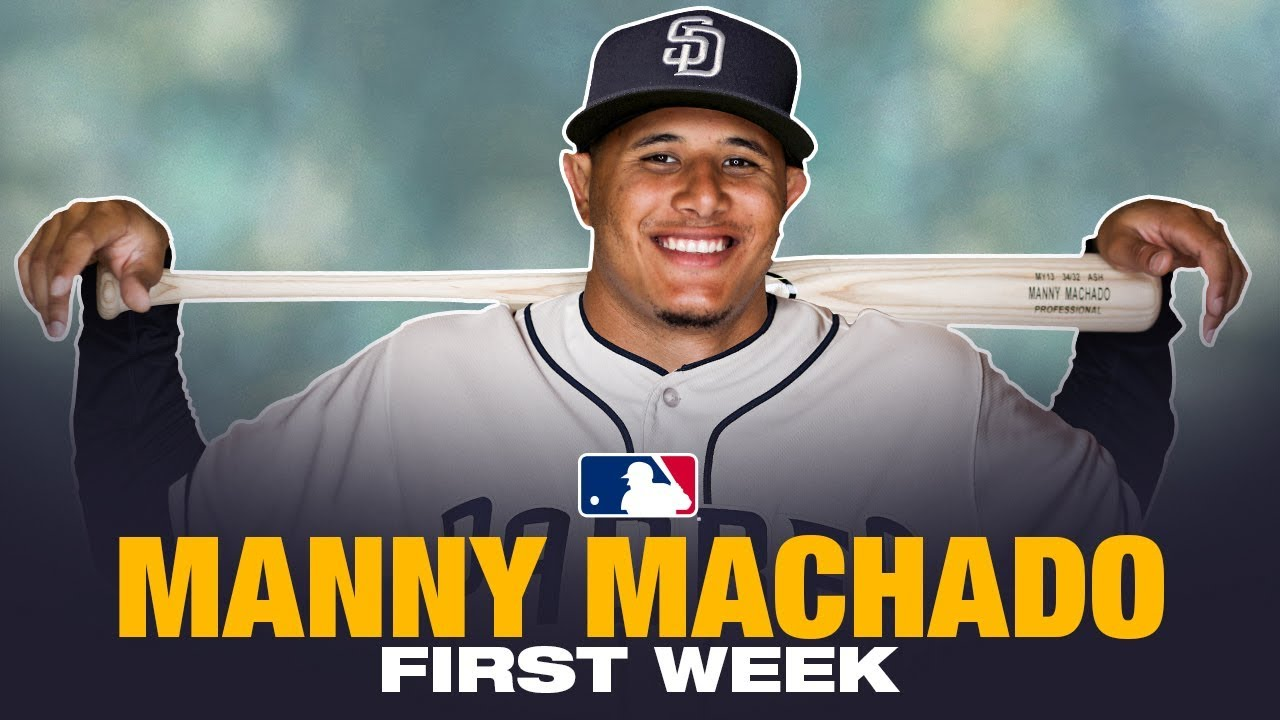 Manny Machado's first week with the Padres