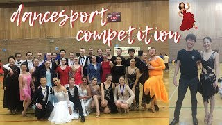my first ever dancesport competition