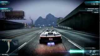 NFS Most Wanted 2012 - Ultimate Speed Pack - Top Speed Tests - 1080p