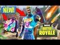 METEOR SHOWERS and NEW BRITE GUNNER SKIN!! (Fortnite Battle Royale)