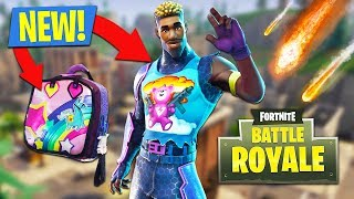 METEOR SHOWERS and NEW BRITE GUNNER SKIN!! (Fortnite Battle Royale)