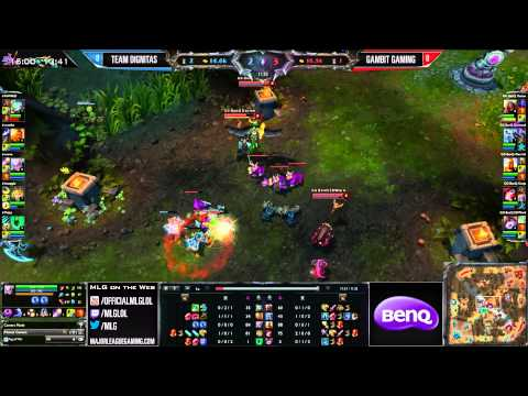 Gambit Gaming vs Team Dignitas - Game 1 - International Exhibition - MLG Dallas 2013
