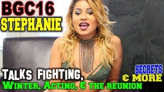 BGC 16 Stephanie talks Fighting, Winter, the Reunion & More! Live Interview