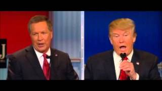 Limbaugh on GOP Debate #4 ... Trump vs. Kasich on illegal immigration