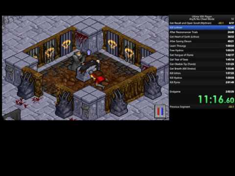 Pagan:  Ultima VIII Speedrun in 1:57:12