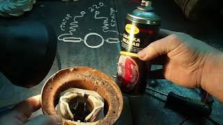 Vakuum tozalovchi dvigatel Bosch ta'mirlash