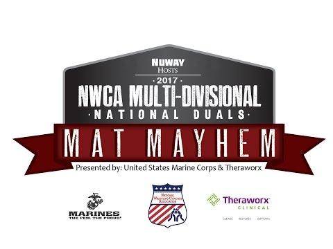 197 lbs Tim Young vs Ruston Duke -  NJCAA SEMIFINAL - 2017 NWCA National Duals