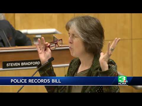 Proposed CA bill would open personnel records of officers involved in shootings