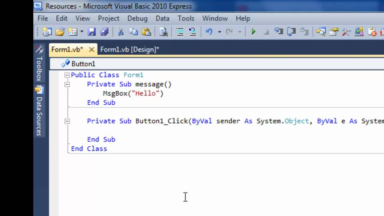 all about visual basic The course diploma in visual basic programming offers you a comprehensive review of the information you need to develop your own applications as a software developer you will learn everything from installing visual studio onto your computer to formatting the way time displays in an application for an end user with the.