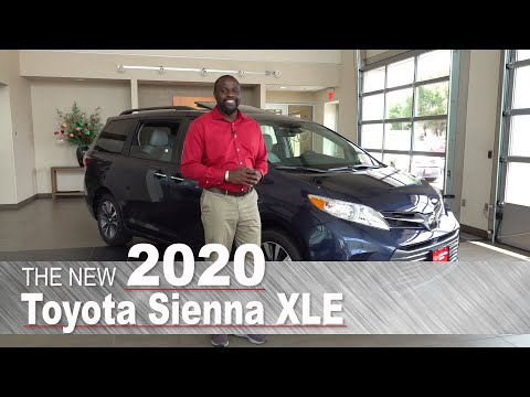 New 2020 Toyota Sienna XLE | Mpls, St Paul, Brooklyn Center, Coon Rapids, Maplewood, MN | Review