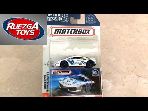 #209 Matchbox Globe Travelers Lamborghini Gallardo Police