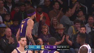 2nd Quarter, One Box Video: Los Angeles Lakers vs. Oklahoma City Thunder