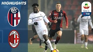 10 man milan drew 0-0 with bologna at the stadio renato dall'ara to close gap on 3rd placed inter 5 points | serie a this is official channel for ...