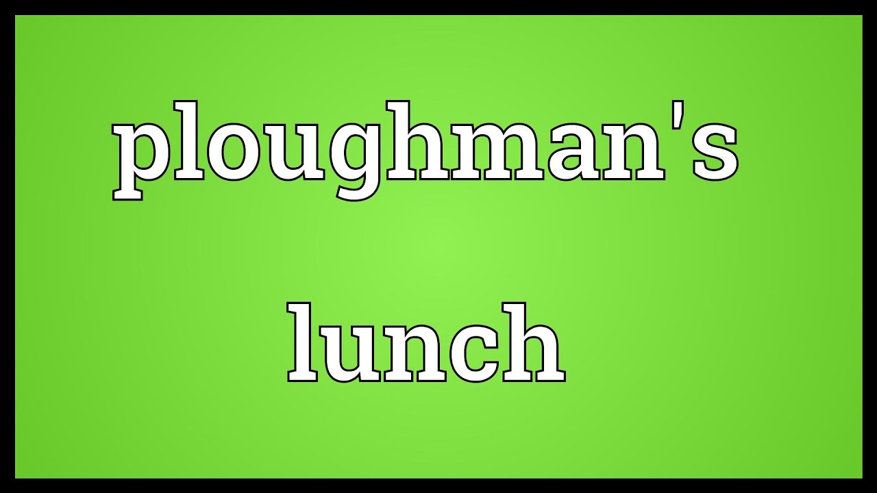 lunch - definition - What is