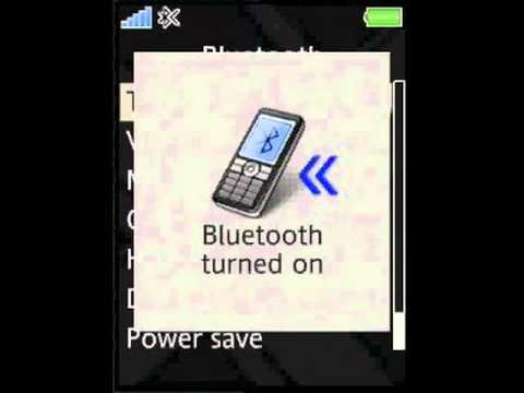 Sony Ericsson Naite, Bluetooth