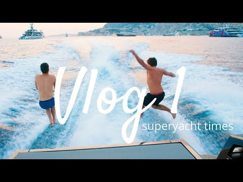 JUMPING OFF SUPERYACHTS IN MONACO!