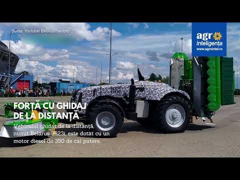 Tractor autonom de la Belarus