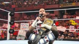 WWE Monday Night Raw 01 August 2011 | CM Punk Returns as WWE Champion [1/2]