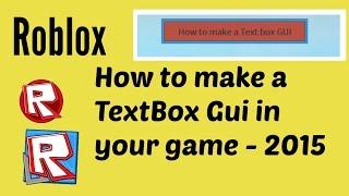 Roblox-como fazer uma GUI de texto em seu jogo (voz falsa!)