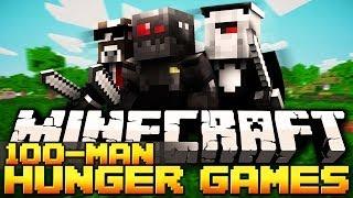 Minecraft 100 Man Hunger Games Match