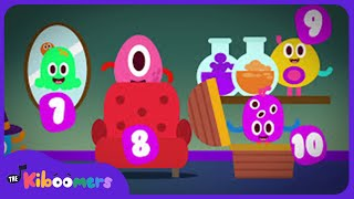 10 Scary Monsters | Halloween Songs | Spooky Songs for kids | Little Monsters | The Kiboomers