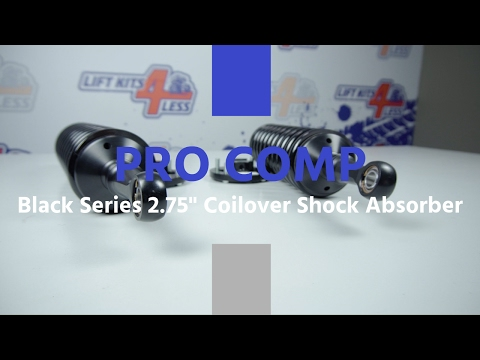Pro Comp Black Series 2.75 Coilover Shock Absorber ZX4078