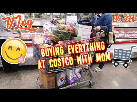 BUYING EVERYTHING AT COSTCO WITH MOM | VLOG EP. 224